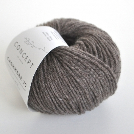 Пряжа для вязания и рукоделия Cashmere 30 (Katia) цвет 202, 94 м