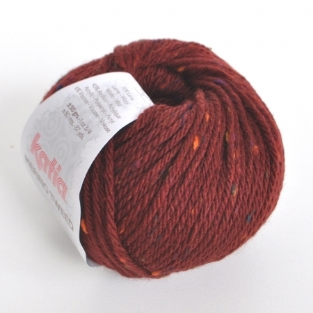 Пряжа для вязания и рукоделия Merino Tweed (Katia) цвет 407, 80 м