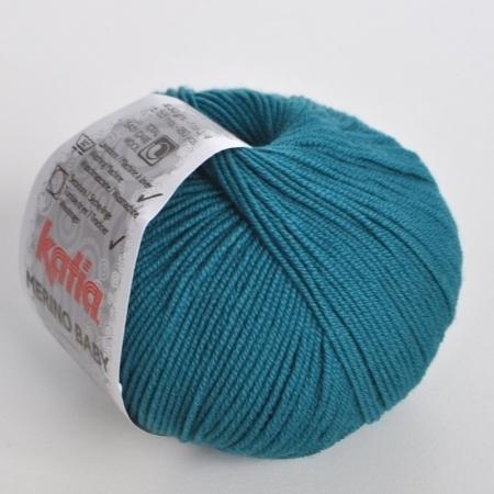 Пряжа для вязания и рукоделия Merino Baby (Katia) цвет 75, 165 м