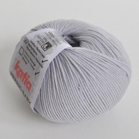 Пряжа Katia Merino Baby, цвет 55, 165 м
