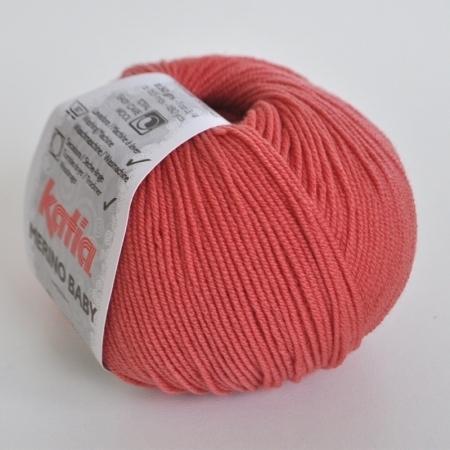 Пряжа для вязания и рукоделия Merino Baby (Katia) цвет 77, 165 м