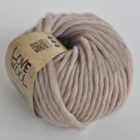 Пряжа для вязания и рукоделия Love Wool (Katia) цвет 101, 50 м