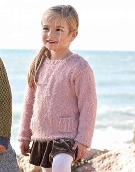 Детский свитер из пряжи Katia Harmony