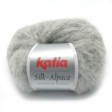 Пряжа Katia Silk Alpaca