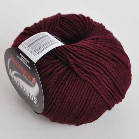 Пряжа для вязания и рукоделия Merino 105 (Austermann) цвет 325, 105