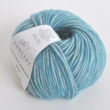 Пряжа для вязания и рукоделия Cotton Merino (Katia) цвет 116, 105 м