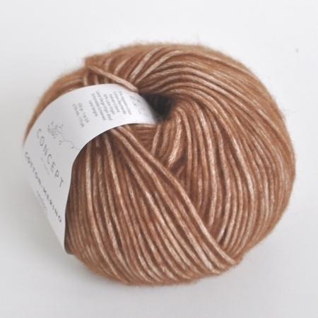 Пряжа для вязания и рукоделия Cotton Merino (Katia) цвет 118, 105 м