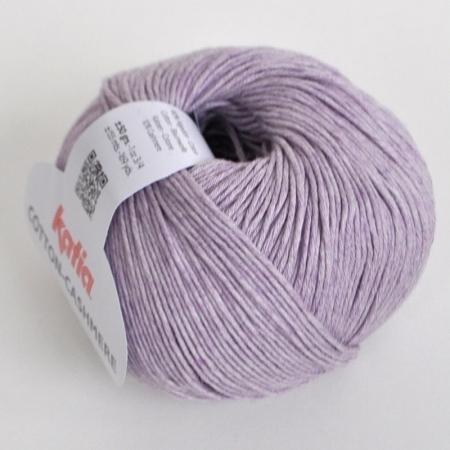 Пряжа для вязания и рукоделия Cotton-Cashmere (Katia) цвет 51, 155 м