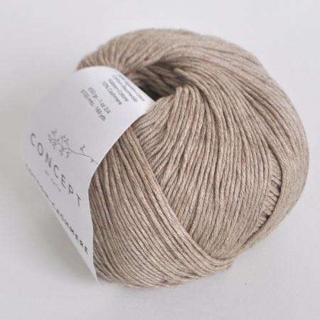Пряжа для вязания и рукоделия Cotton-Cashmere (Katia) цвет 55, 155 м