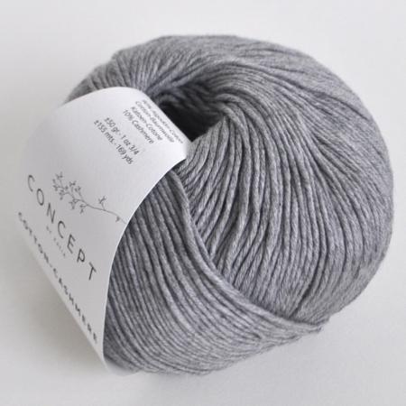 Пряжа для вязания и рукоделия Cotton-Cashmere (Katia) цвет 59, 155 м