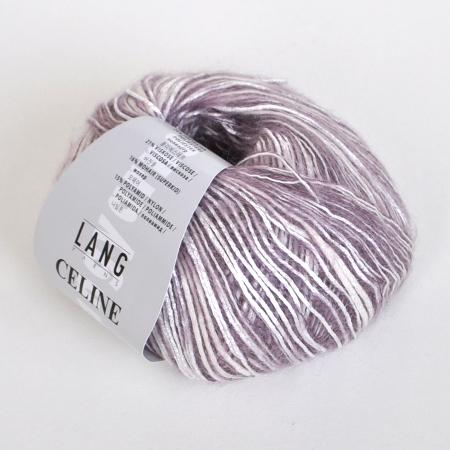 Пряжа для вязания и рукоделия Celine (Lang Yarns) цвет 0048, 140 м