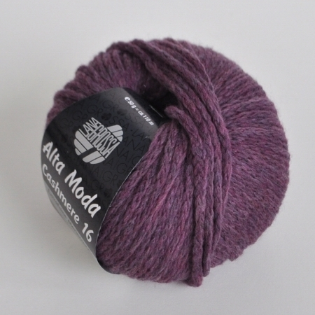 Пряжа для вязания и рукоделия Alta Moda Cashmere 16 (Lana Grossa) цвет 04, 110 м