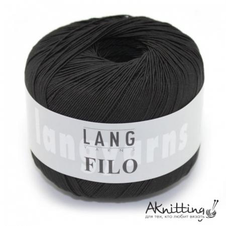 Пряжа для вязания и рукоделия Filo (Lang Yarns) цвет 0004, 200 м