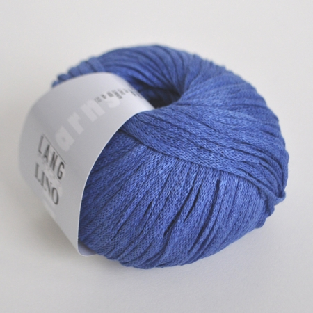 Пряжа для вязания и рукоделия Lino (Lang Yarns) цвет 0006, 110 м