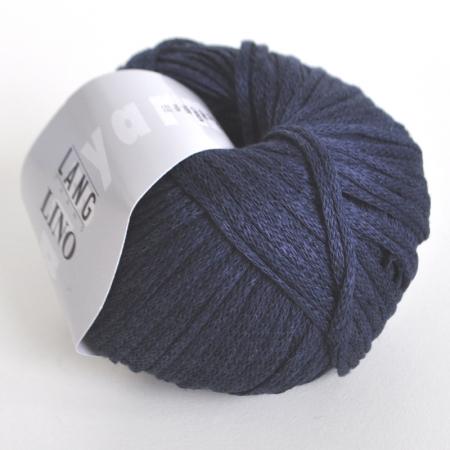 Пряжа для вязания и рукоделия Lino (Lang Yarns) цвет 0010, 110 м