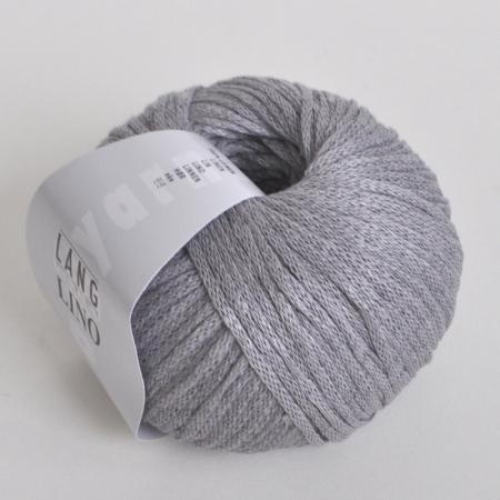 Пряжа для вязания и рукоделия Lino (Lang Yarns) цвет 0023, 110 м