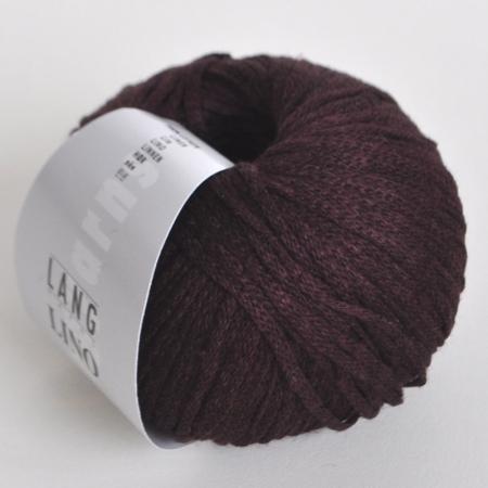 Пряжа для вязания и рукоделия Lino (Lang Yarns) цвет 0064, 110 м