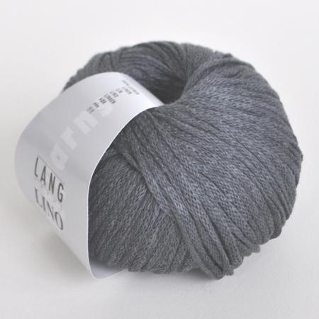 Пряжа для вязания и рукоделия Lino (Lang Yarns) цвет 0070, 110 м