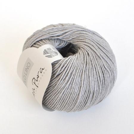 Пряжа для вязания и рукоделия Solo Lino (Lana Grossa) цвет 05, 120 м