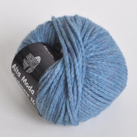 Пряжа для вязания и рукоделия Alta Moda Cashmere 16 (Lana Grossa) цвет 18, 110 м