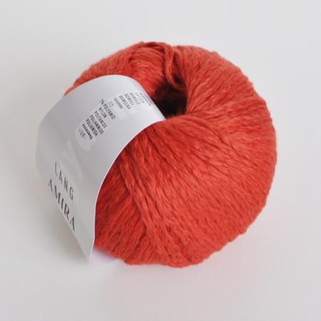 Пряжа для вязания и рукоделия Amira (Lang Yarns) цвет 0075, 100 м