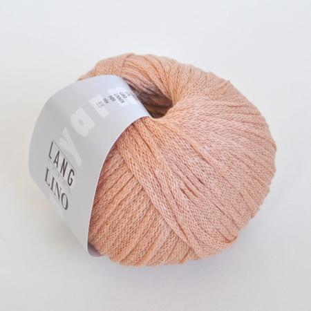 Пряжа для вязания и рукоделия Lino (Lang Yarns) цвет 0030, 110 м