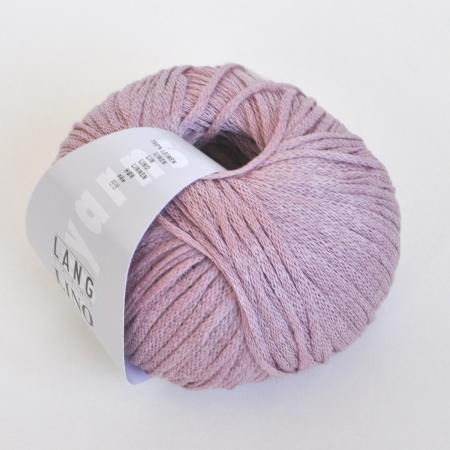 Пряжа для вязания и рукоделия Lino (Lang Yarns) цвет 0048, 110 м