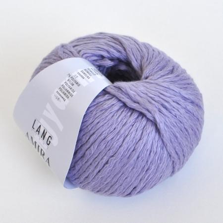 Пряжа для вязания и рукоделия Amira (Lang Yarns) цвет 0007, 100 м
