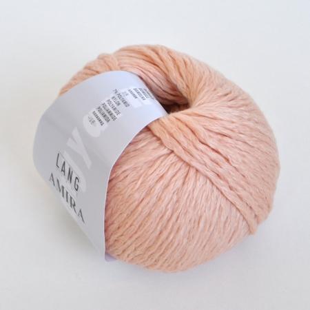 Пряжа для вязания и рукоделия Amira (Lang Yarns) цвет 0128, 100 м