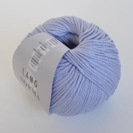 Пряжа для вязания и рукоделия Norma (Lang Yarns) цвет 007, 135 м