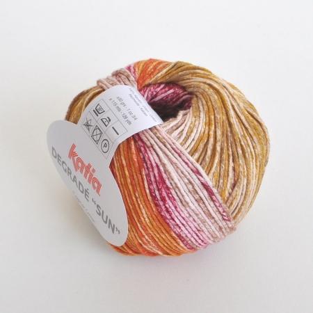 Пряжа для вязания и рукоделия Degrade Sun (Katia) цвет 110, 115 м