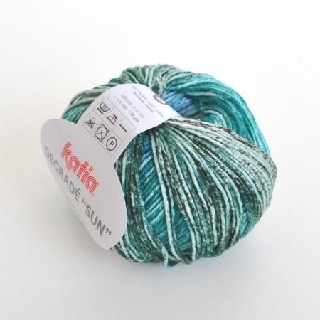 Пряжа для вязания и рукоделия Degrade Sun (Katia) цвет 115, 115 м