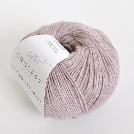 Пряжа для вязания и рукоделия Cotton-Cashmere (Katia) цвет 63, 155 м