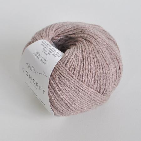 Пряжа для вязания и рукоделия Cotton - Yak (Katia) цвет 108, 130 м