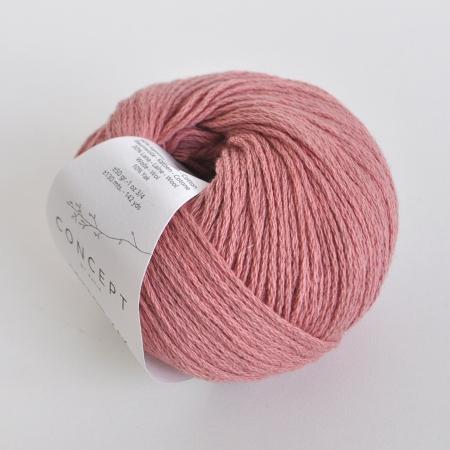 Пряжа для вязания и рукоделия Cotton - Yak (Katia) цвет 109, 130 м