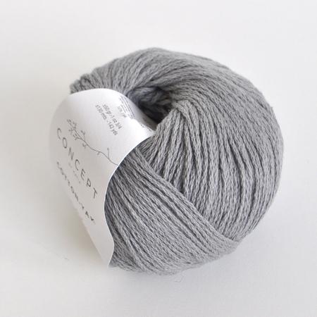 Пряжа для вязания и рукоделия Cotton - Yak (Katia) цвет 112, 130 м