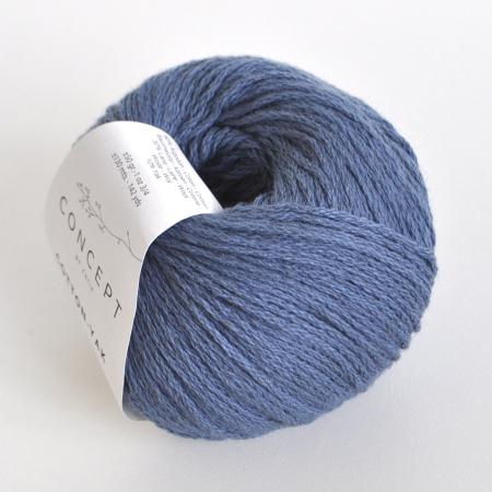 Пряжа для вязания и рукоделия Cotton - Yak (Katia) цвет 116, 130 м