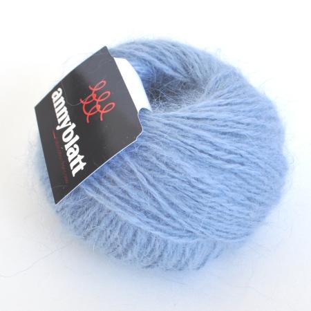 Пряжа для вязания и рукоделия Angora Prestige (Anny Blatt) цвет 1261, 125 м
