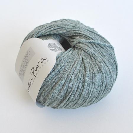 Пряжа для вязания и рукоделия Solo Lino Melange (Lana Grossa) цвет 109, 105 м