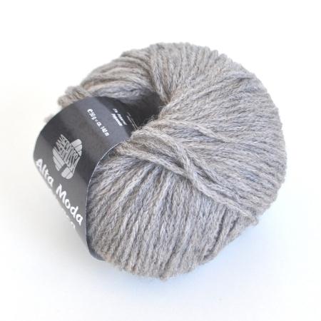 Пряжа для вязания и рукоделия Alta Moda Alpaca (Lana Grossa) цвет 15, 140 м