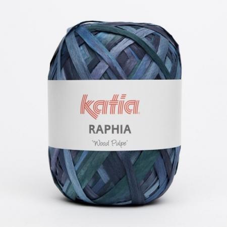 Пряжа для вязания и рукоделия Raphia (Katia) цвет 57, 115 м
