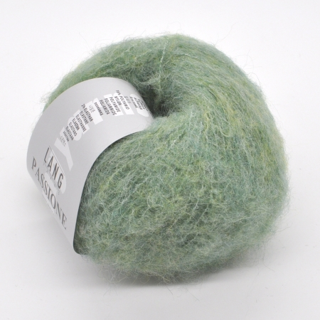 Пряжа для вязания и рукоделия Passione (Lang Yarns) цвет 0016, 132 м