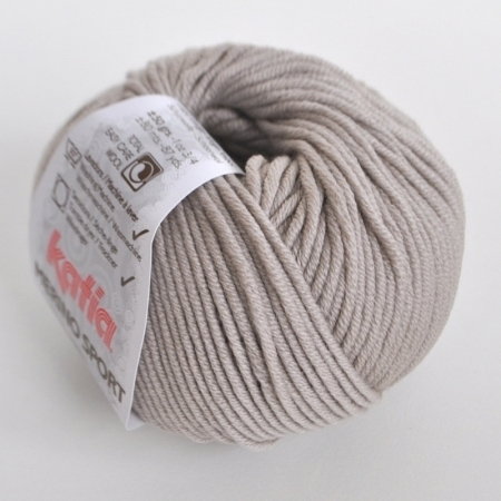 Пряжа для вязания и рукоделия Merino Sport (Katia) цвет 10, 80 м