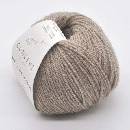 Пряжа для вязания и рукоделия Baby Alpaca (Katia) цвет 502, 125 м
