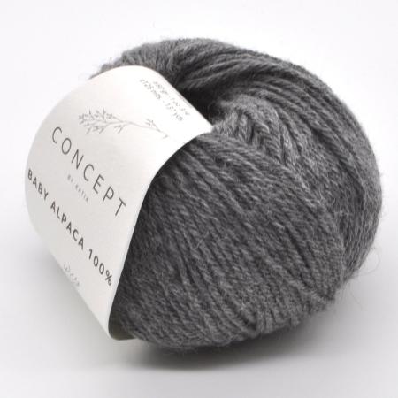 Пряжа для вязания и рукоделия Baby Alpaca (Katia) цвет 504, 125 м