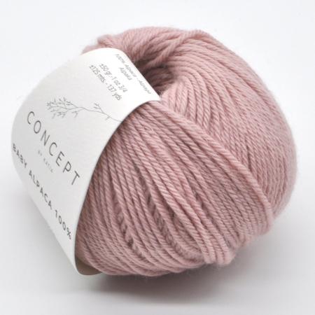 Пряжа для вязания и рукоделия Baby Alpaca (Katia) цвет 506, 125 м