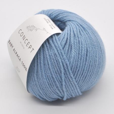 Пряжа для вязания и рукоделия Baby Alpaca (Katia) цвет 511, 125 м
