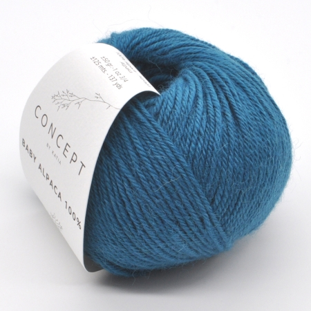Пряжа для вязания и рукоделия Baby Alpaca (Katia) цвет 515, 125 м