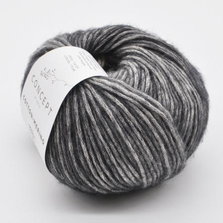 Пряжа для вязания и рукоделия Cotton Merino (Katia) цвет 300, 105 м