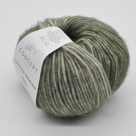 Пряжа для вязания и рукоделия Cotton Merino (Katia) цвет 302, 105 м